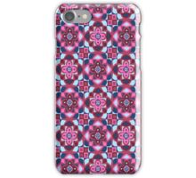 Regal Reign - Pink & Blue iPhone Case/Skin