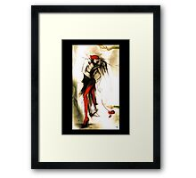 Naissance d'un Amour / Birth of Love Framed Print