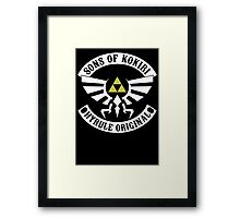 Sons of Kokiri Version 2 Framed Print