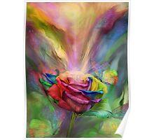 Healing Rose Poster