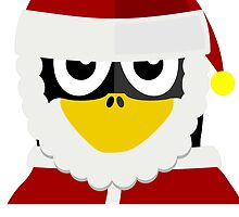 Santa Clause Penguin by kwg2200