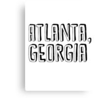 Atlanta, Georgia Canvas Print