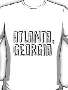 Atlanta, Georgia T-Shirt