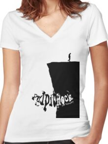 Pulpit Rock Women's Fitted V-Neck T-Shirt