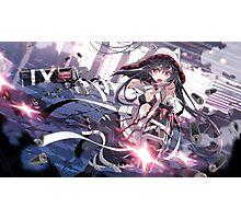 Anime Girl with guns Photographic Print