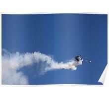 Reverse Flying Schweizer Helo Poster