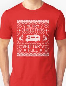 Shitter's Full - Merry Christmas T-Shirt