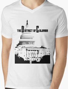 The District of Columbia Mens V-Neck T-Shirt