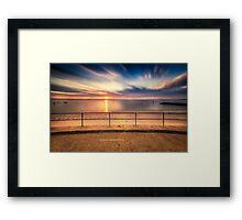 The Last Days Of Winter - Ramsgate Baths Framed Print