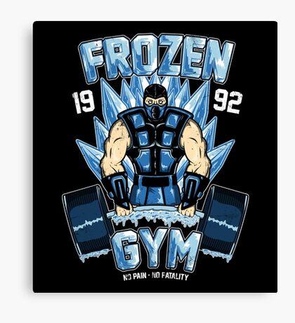 Frozen Gym Canvas Print