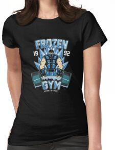 Frozen Gym Womens Fitted T-Shirt