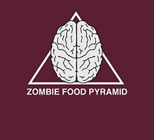 Zombie Food Pyramid Unisex T-Shirt