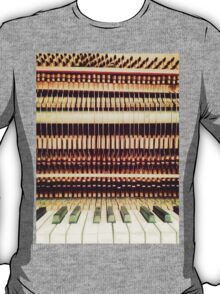 Wooden Frame Piano T-Shirt