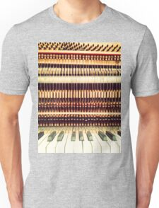 Wooden Frame Piano Unisex T-Shirt