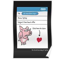 Pigheart Poster