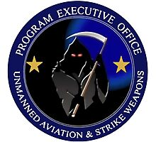Unmanned Aviation and Strike Weapons Logo Photographic Print