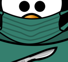 Doctor Penguin Sticker