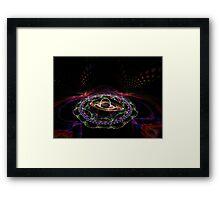 Trip the light fantastic  Framed Print