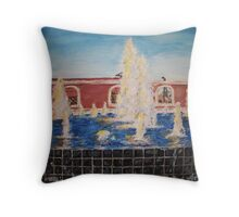 Freedom Fountain Throw Pillow