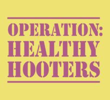 Operation Healthy Hooters Kids Clothes