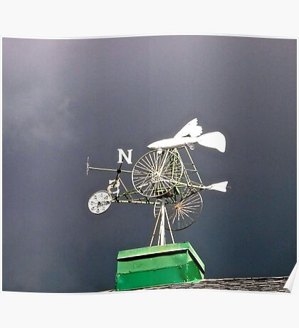 Weather Vane Poster