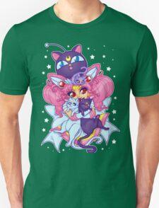Sailor Mini Moon & Space Kitties Unisex T-Shirt