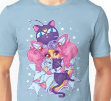 Sailor Mini Moon & Space Kitties Unisex T-Shirt