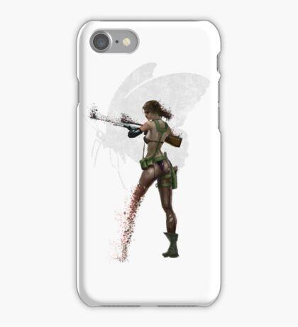 Silent Mercenary iPhone Case/Skin