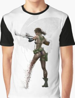 Silent Mercenary Graphic T-Shirt