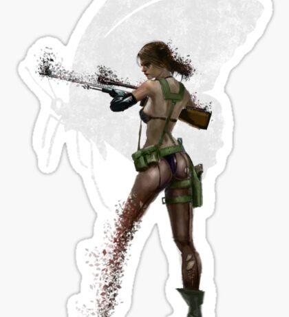 Silent Mercenary Sticker