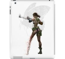 Silent Mercenary iPad Case/Skin