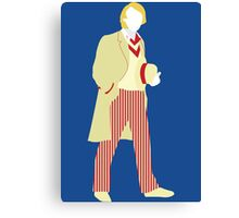 The Fifth Doctor - Doctor  Who - Peter Davison  Canvas Print