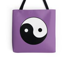 Ying Yang Symbol Tote Bag