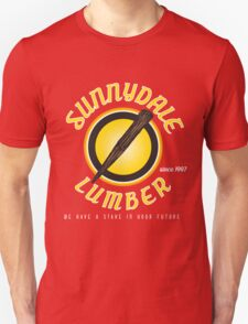 Sunnydale Lumber Unisex T-Shirt