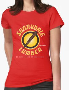 Sunnydale Lumber Womens Fitted T-Shirt