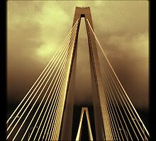 Arthur Ravenel Jr. Bridge - Charleston, SC #4 by Edith Reynolds