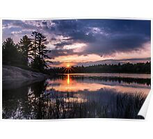 Sunset Massasauga Provincial Park Poster