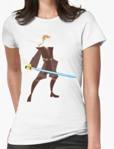Anakin (Padawan) Womens Fitted T-Shirt