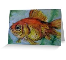 Fish Eye Greeting Card