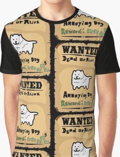 Undertale - Dog, Wanted Graphic T-Shirt