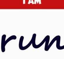 Hello I Am Drunk Sticker