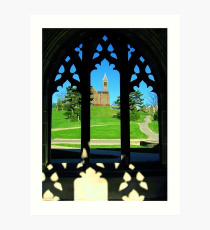 Clocktower from the Gothics Art Print
