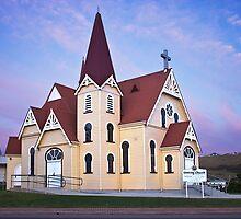 Uniting Church Penguin Tasmania by bronwyn febey photography