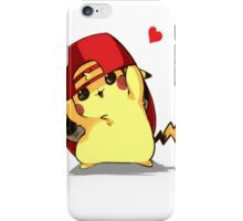 Silly Pikachu iPhone Case/Skin