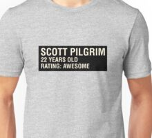 Scott Pilgrim - Scott's Name Tag Unisex T-Shirt