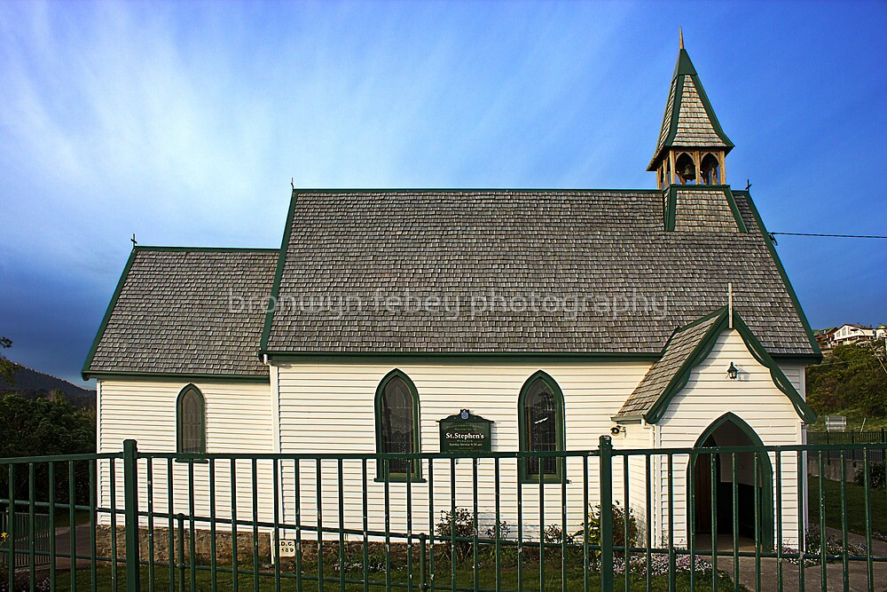 Anglican Church Penguin Tasmania by bronwyn febey photography