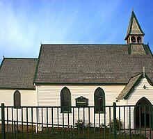 Anglican Church Penguin Tasmania by bronwyn febey photography