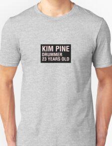 Scott Pilgrim - Kim Pine's Name Tag Unisex T-Shirt