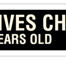 Scott Pilgrim - Knives Chau's Name Tag Sticker