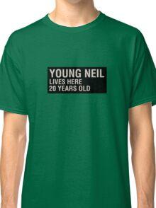 Scott Pilgrim - Young Neil's Name Card Classic T-Shirt
